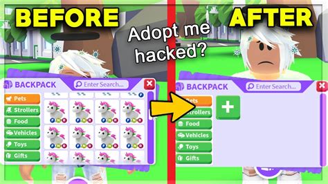 Hey guys, today in together with the video, i'll share an adopt me hack that's super simple, as well as. ADOPT ME IS GETTING HACKED! YOUR PETS WILL BE DELETED ...