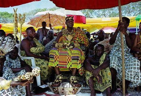Ashanti Chiefs at Durbar of Tribes in Ghana, Africa | TIM ...