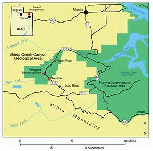 Geosights  Sheep Creek Canyon Geological Area  Daggett