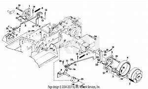 Gravely 787037 Brake 4 Wheel Tractor Parts Diagram For