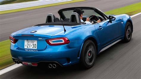 fiat abarth  spider  review carsguide