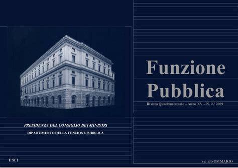 Presidenza Consiglio Dei Ministri Dipartimento Della Funzione Pubblica by Bortoletti Corruzione Percepita E Fenomeno Reale Utilit 224