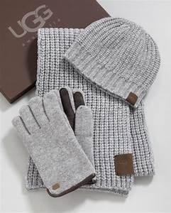 Ugg Hat Scarf Gloves Box Set In Gray For Men Lyst