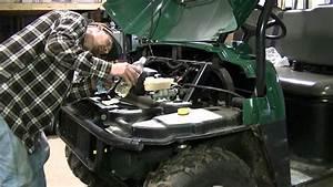 Polaris Ranger 500 Replacing Brake Pads  Part 3 Of 3