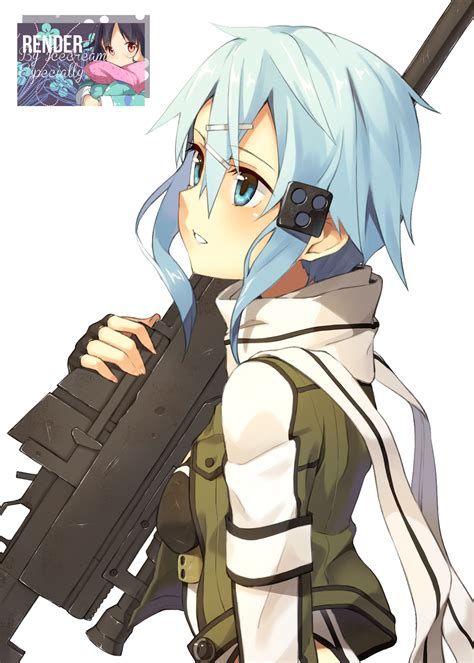gun gale  anime girl png render