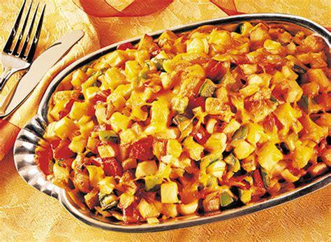 cuisiner des pommes de terre nouvelles pommes de terre rissolées aux poivrons et au cheddar