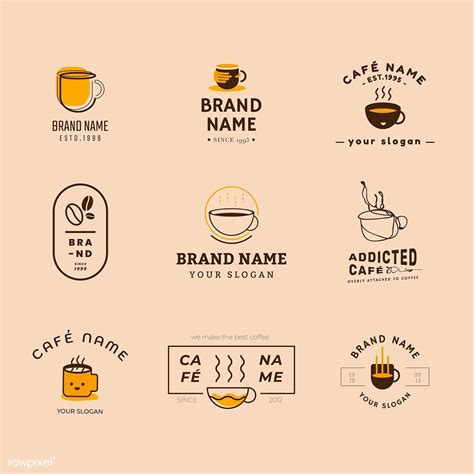 Common logo trends include coffee beans, hipster logos, minimal logos and coffee. Pin on Coffee Background Ideas Graphics