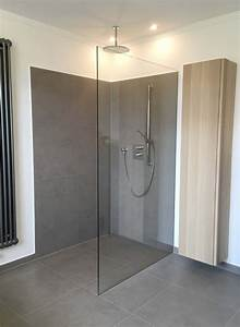 Fliesen Bad Grau : dusche ebenerdig grau fliesen glasabtrennung rainshower bad pinterest graue fliesen ~ Sanjose-hotels-ca.com Haus und Dekorationen