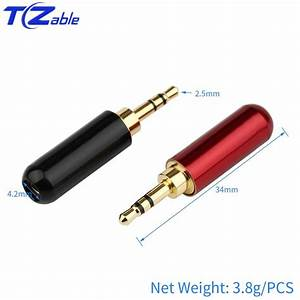 2020 Hifi Audio Plug 2 5mm 3  4 Pole Headphone Adapter