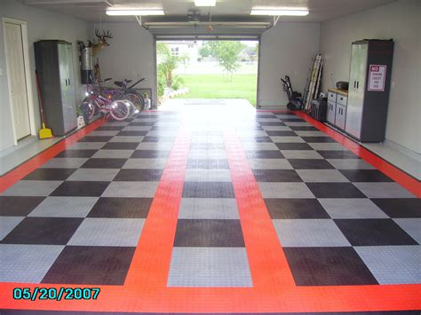garage floor tile vs paint corvetteforum chevrolet