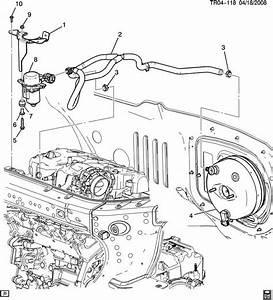 Chevrolet Traverse Brake Booster Pump  U0026 Hose