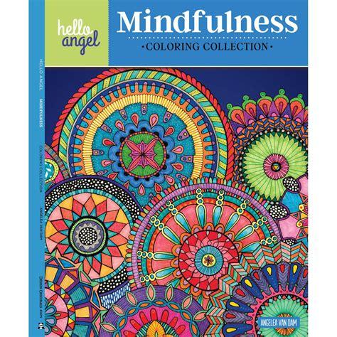 mindfulness colouring book hobbycraft