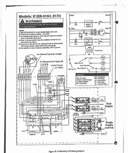 Intertherm Wiring Diagram For Ac Unit by Intertherm E1eh 015ha Questions Answers With Pictures