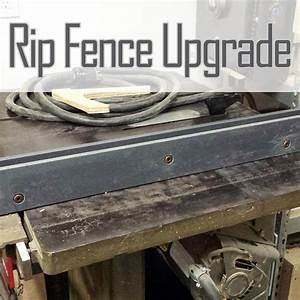 Rip Fence Archives - Wood Shop Mike