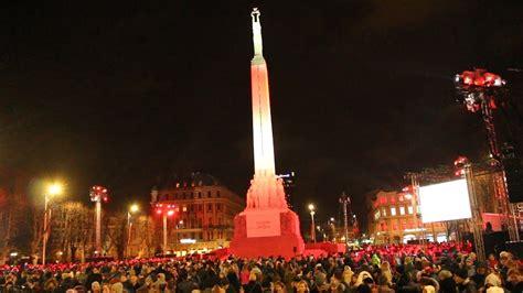 18. novembris - Brīvības piemineklis - YouTube