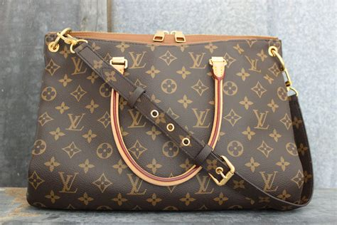 louis vuitton monogram canvas pallas havane