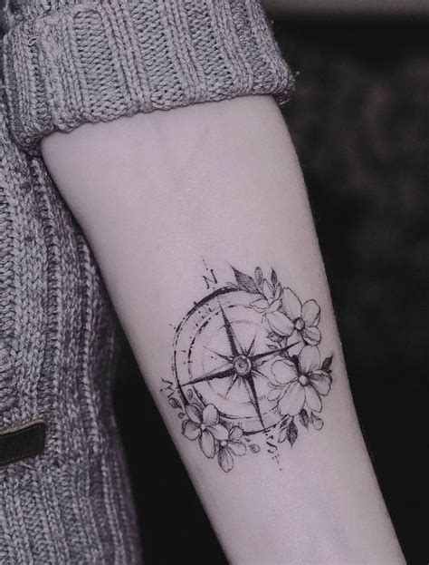 small compass tattoo inkstylemag