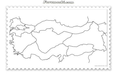 Türkiyenin Bölgeleri Haritası Boyama Resimlere Göre Ara Red