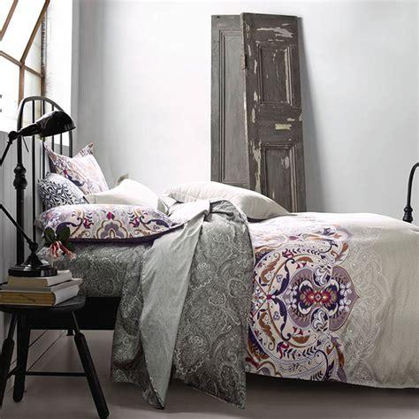 aesthetic white cotton bedding set
