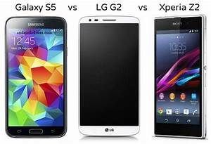 Samsung Galaxy S5 vs LG G2 vs Sony Xperia Z2 Android Phone ...