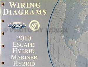 2010 Ford Escape Hybrid And Mercury Mariner Hybrid Wiring
