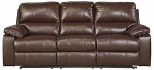 Reclining sofa ashley furniture lenoris reclining sofa for Ashley leather sofa