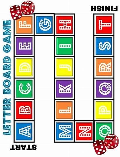 Board Games Alphabet Letter Dice Worksheets Activities