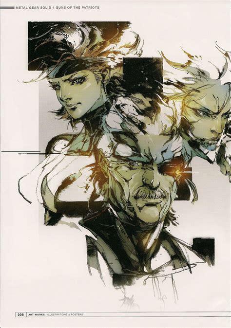 heres    favorite mgs artworks  yoji shinkawa