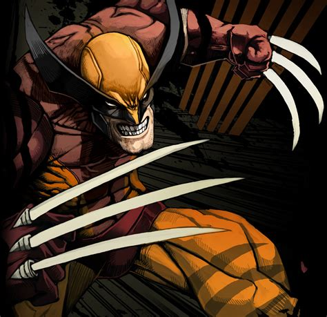 Comics Forever, Wolverine  Digital Pencils, Inks And