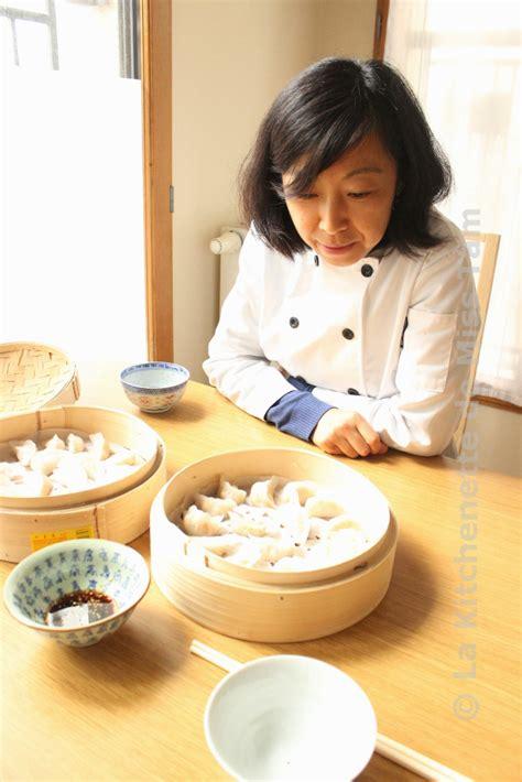 cuisine chinoise vapeur raviolis aux crevettes à la vapeur ha kao 蒸虾饺 la