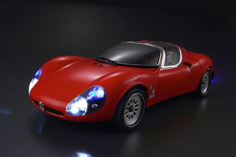 KILLERBODY ALFA ROMEO TIPO33 STRADALE 190MM CLEAR BODY # ...