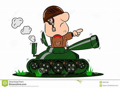 Tank Cartoon Army Soldier Military Clipart Dreamstime