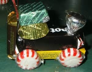 Candy Train Ornament