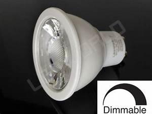 Ampoule Led Dimmable Gu10 : ampoule led gu10 5w dimmable blanc chaud ~ Edinachiropracticcenter.com Idées de Décoration
