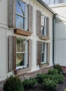 1000 ideas about wood shutters on pinterest shutters With barnwood shutters