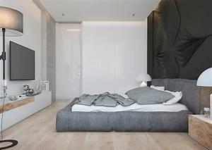 meubles et decor couleur gris dans 5 appartements modernes With affiche chambre bébé avec fleur d appartement blanche