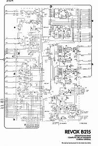 Revox B215 Sch Service Manual Download  Schematics  Eeprom  Repair Info For Electronics Experts