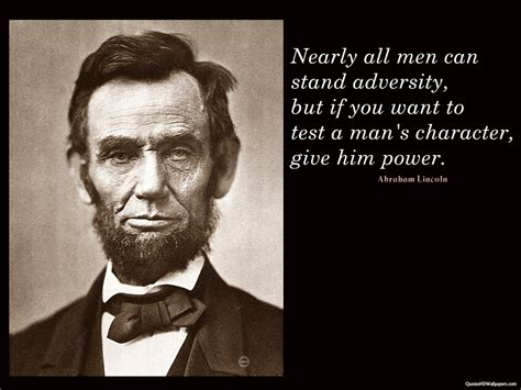 Abraham Lincoln Quotes On Character. Quotesgram