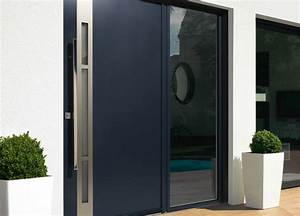 porte d39 entree alu contemporaine kline menuiseries du With destockage porte d entrée alu