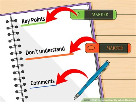 4 Ways To Learn Quickly When Reading Wikihow
