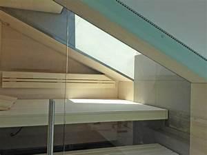 Sauna Mit Glasfront : sauna in dachschr ge mit glasfront sauna von saunabau ~ Articles-book.com Haus und Dekorationen