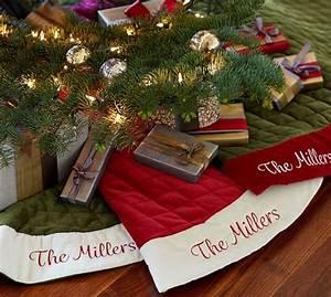 velvet tree skirts pottery barn With christmas tree skirt pottery barn