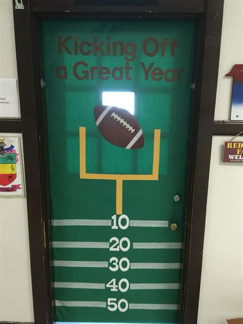 26 best images about classroom doors i 39 ve decorated on pinterest football aliens and knight