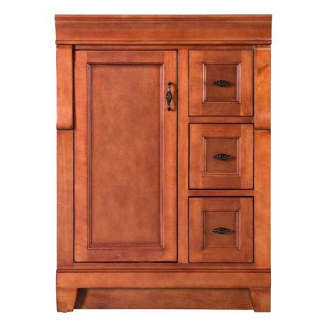 Vanity Cabinet Only by Foremost Naples 24 In W X 18 In D X 34 In H Vanity