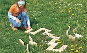 Spiele Für Garten : holz dominosteine kindergarten ~ Frokenaadalensverden.com Haus und Dekorationen