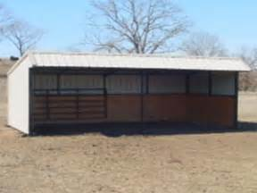 afera useful free loafing shed plans for horses