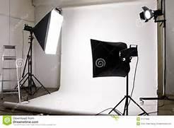 Photographers Lighting by Studio Lighting Equipment Royalty Free Stock Photos Image 21577968