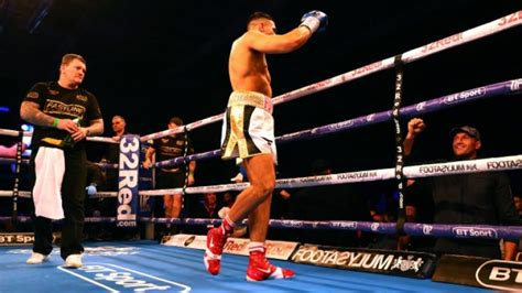 Tyson Fury watches on as younger brother, Tommy, scores ...