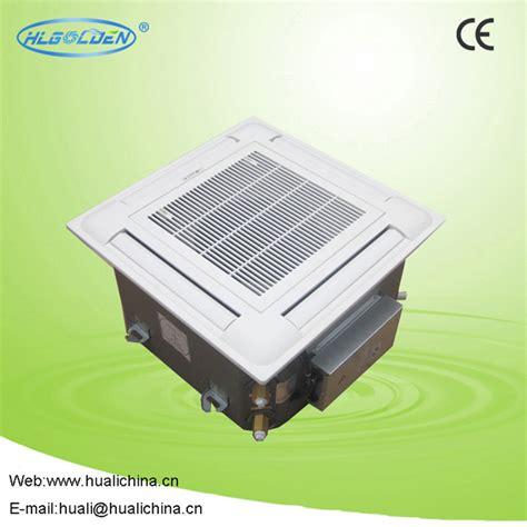 chilled water fan coil unit chilled water fan coil 4 way cassette fan coil unit