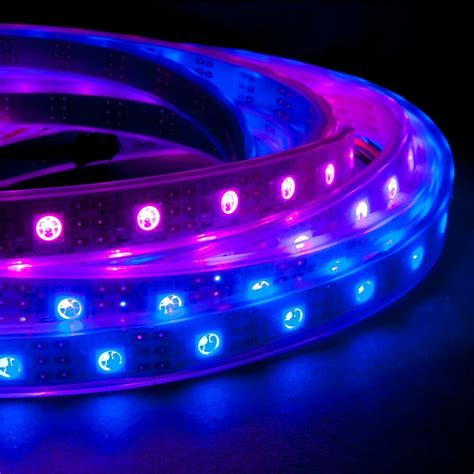 1m 60 Ledm Rgb Led Light Strip 5v Ws2811 (ws2801